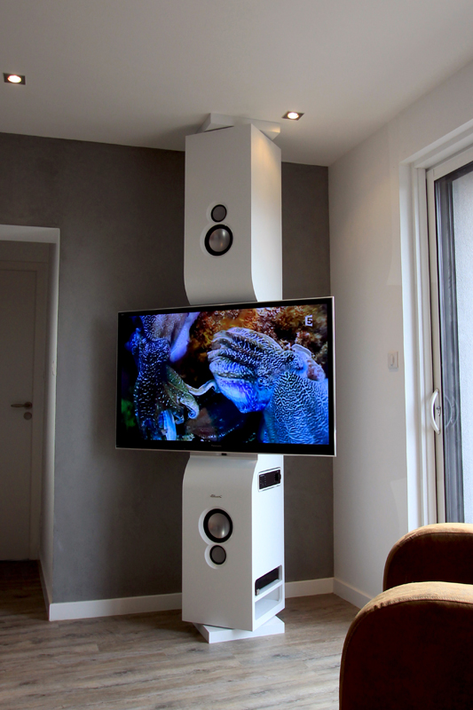 meuble tv colone3 - Meuble Tv Ultra Design