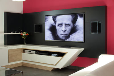Salon multim dia - Meuble tv sur mesure design ...