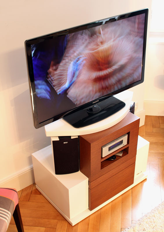 meuble tv ultra compact. Black Bedroom Furniture Sets. Home Design Ideas